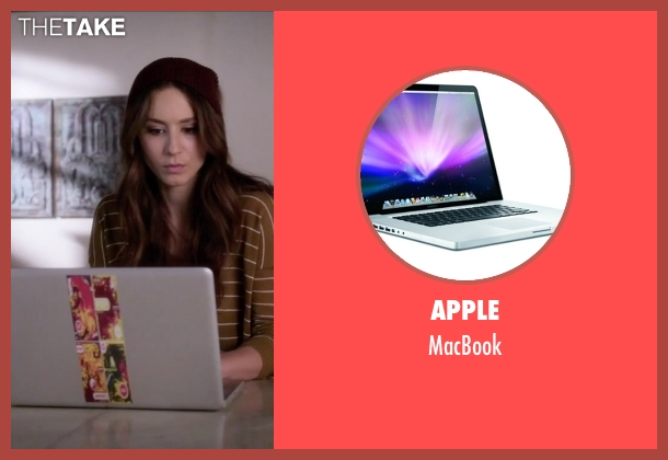 Apple macbook from Pretty Little Liars seen with Spencer Hastings  (Troian Bellisario)