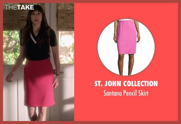 St. John Collection pink skirt from Pretty Little Liars seen with Spencer Hastings  (Troian Bellisario)