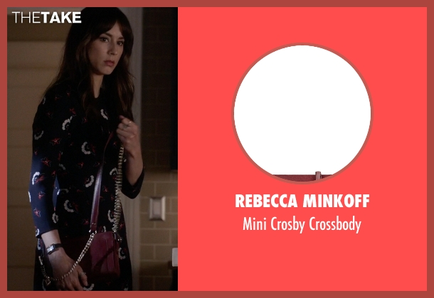 Rebecca Minkoff red crossbody from Pretty Little Liars seen with Spencer Hastings  (Troian Bellisario)