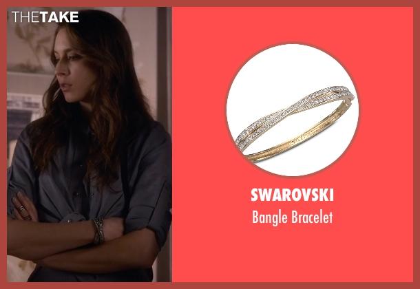 Swarovski silver bracelet from Pretty Little Liars seen with Spencer Hastings  (Troian Bellisario)