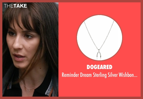 Dogeared silver necklace from Pretty Little Liars seen with Spencer Hastings  (Troian Bellisario)