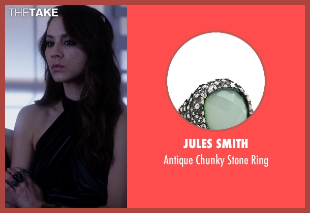 Jules Smith silver ring from Pretty Little Liars seen with Spencer Hastings  (Troian Bellisario)