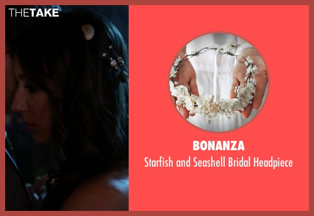 Bonanza white headpiece from Pretty Little Liars seen with Spencer Hastings  (Troian Bellisario)