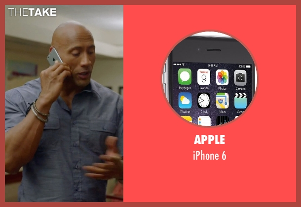 Apple 6 from Ballers seen with Spencer Strasmore (Dwayne Johnson)