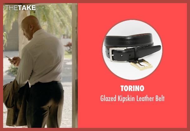 Torino black belt from Ballers seen with Spencer Strasmore (Dwayne Johnson)