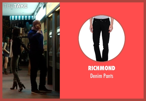 Richmond black pants from Ballers seen with Spencer Strasmore (Dwayne Johnson)