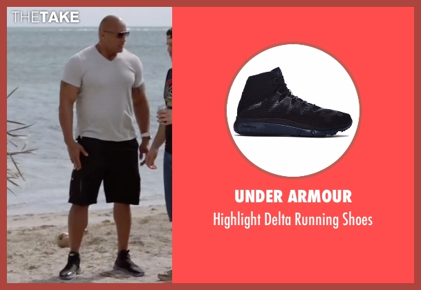 Under Armour black shoes from Ballers seen with Spencer Strasmore (Dwayne Johnson)