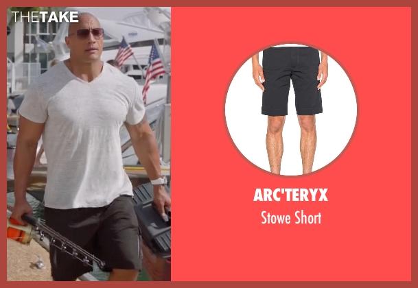 Arc'teryx black short from Ballers seen with Spencer Strasmore (Dwayne Johnson)