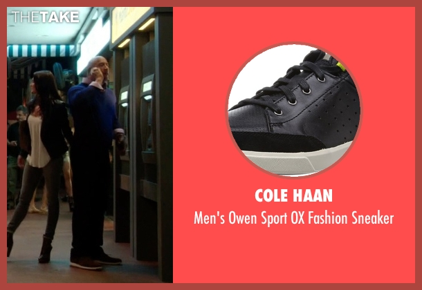 Cole Haan black sneaker from Ballers seen with Spencer Strasmore (Dwayne Johnson)