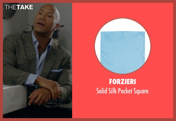 Forzieri blue square from Ballers seen with Spencer Strasmore (Dwayne Johnson)