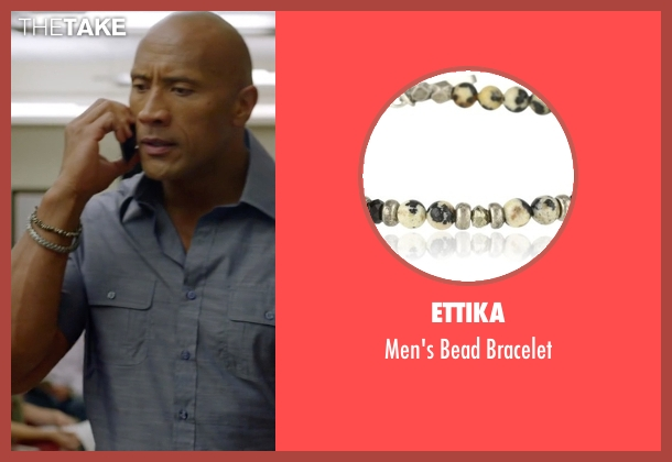 M.Cohen Handmade Designs bracelet from Ballers seen with Spencer Strasmore (Dwayne Johnson)