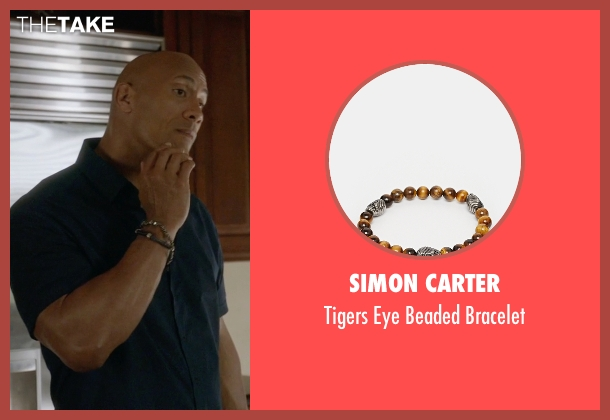 Simon Carter bracelet from Ballers seen with Spencer Strasmore (Dwayne Johnson)