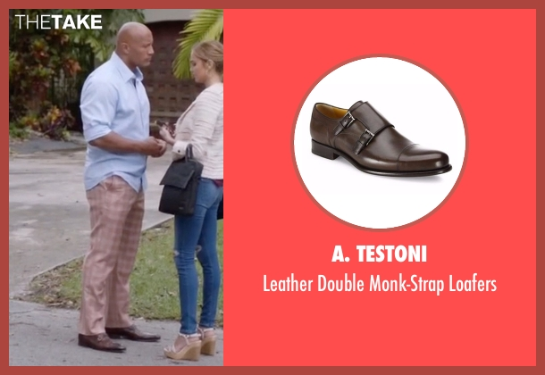 A. Testoni brown loafers from Ballers seen with Spencer Strasmore (Dwayne Johnson)