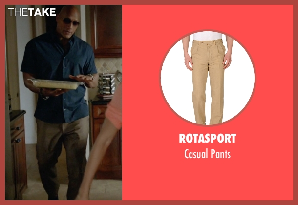 Rotasport brown pants from Ballers seen with Spencer Strasmore (Dwayne Johnson)