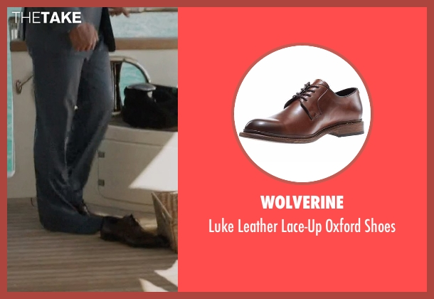 Wolverine brown shoes from Ballers seen with Spencer Strasmore (Dwayne Johnson)