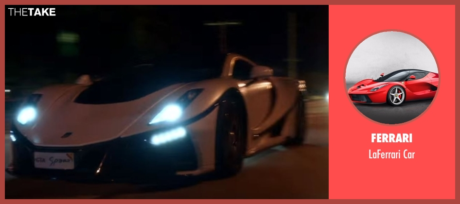 Ferrari car from Ballers seen with Spencer Strasmore (Dwayne Johnson)