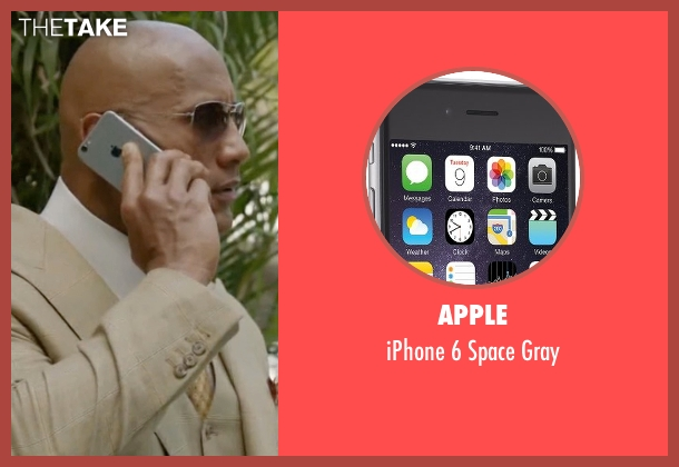 Apple gray from Ballers seen with Spencer Strasmore (Dwayne Johnson)