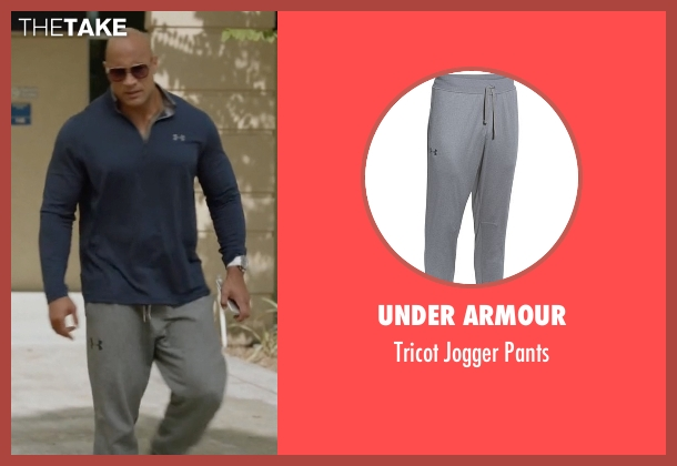 Under Armour gray pants from Ballers seen with Spencer Strasmore (Dwayne Johnson)