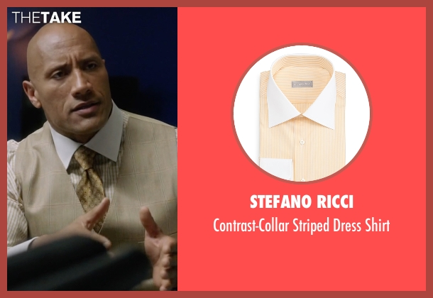 Stefano Ricci shirt from Ballers seen with Spencer Strasmore (Dwayne Johnson)