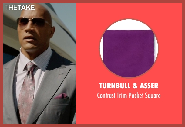 Turnbull & Asser square from Ballers seen with Spencer Strasmore (Dwayne Johnson)