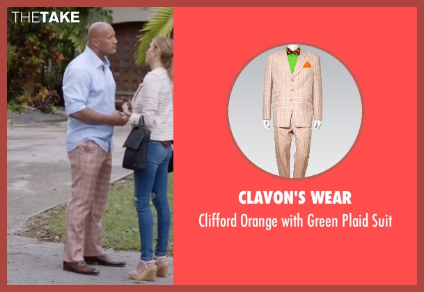 Clavon's Wear suit from Ballers seen with Spencer Strasmore (Dwayne Johnson)