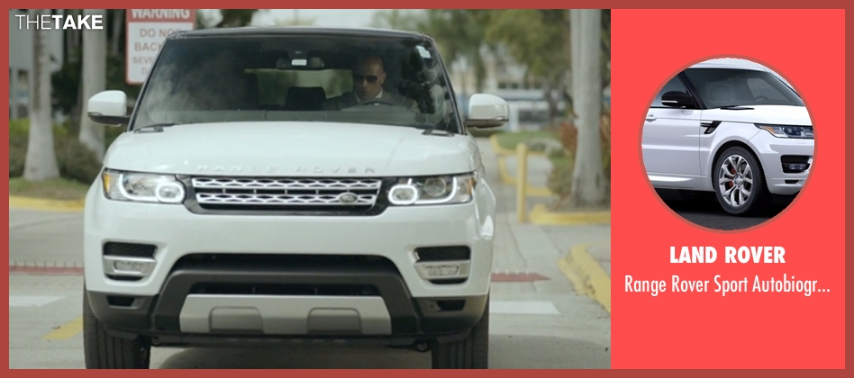 Land Rover suv from Ballers seen with Spencer Strasmore (Dwayne Johnson)