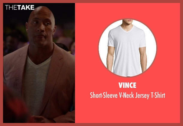 Vince t-shirt from Ballers seen with Spencer Strasmore (Dwayne Johnson)