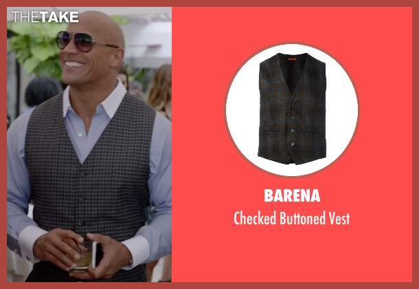 Barena vest from Ballers seen with Spencer Strasmore (Dwayne Johnson)