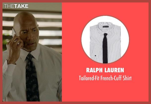 Ralph Lauren white shirt from Ballers seen with Spencer Strasmore (Dwayne Johnson)