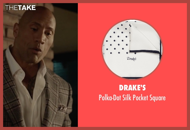 Drake's white square from Ballers seen with Spencer Strasmore (Dwayne Johnson)