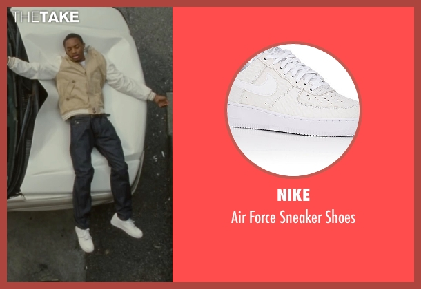 Nike white shoes from The Heat seen with Spoken Reasons (Rojas)