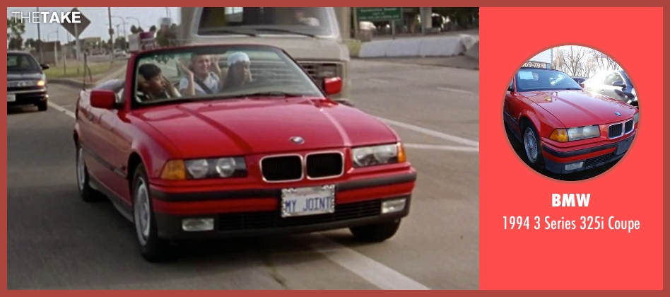 BMW coupe from Clueless seen with Stacey Dash (Dionne)
