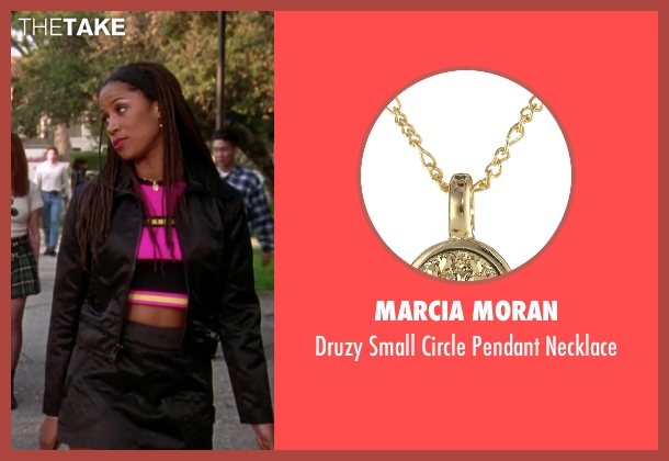Marcia Moran gold necklace from Clueless seen with Stacey Dash (Dionne)