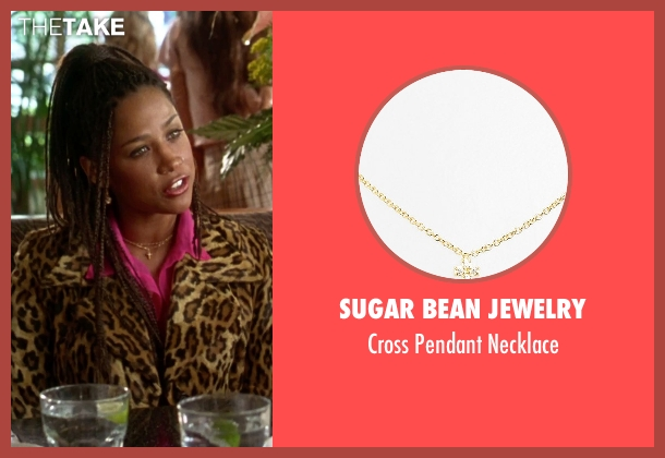 Sugar Bean Jewelry gold necklace from Clueless seen with Stacey Dash (Dionne)