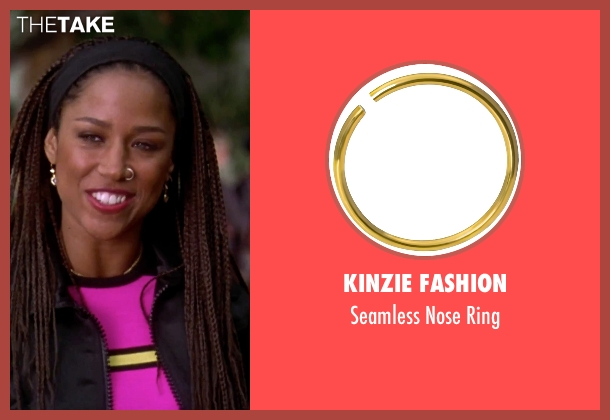 Kinzie Fashion gold ring from Clueless seen with Stacey Dash (Dionne)