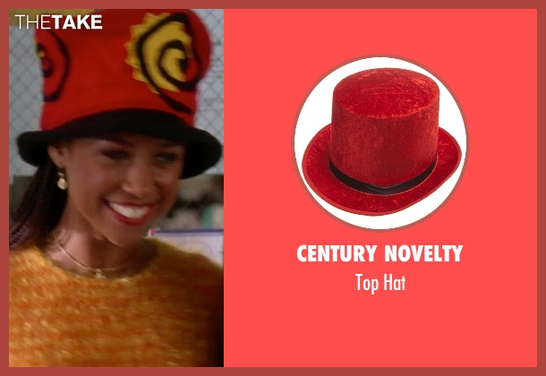 Century Novelty hat from Clueless seen with Stacey Dash (Dionne)