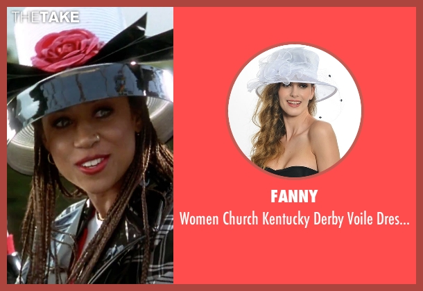Fanny hats from Clueless seen with Stacey Dash (Dionne)