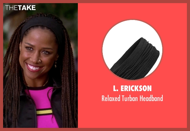 L. Erickson headband from Clueless seen with Stacey Dash (Dionne)
