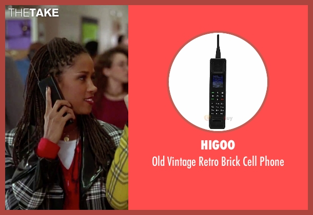 Higoo phone from Clueless seen with Stacey Dash (Dionne)