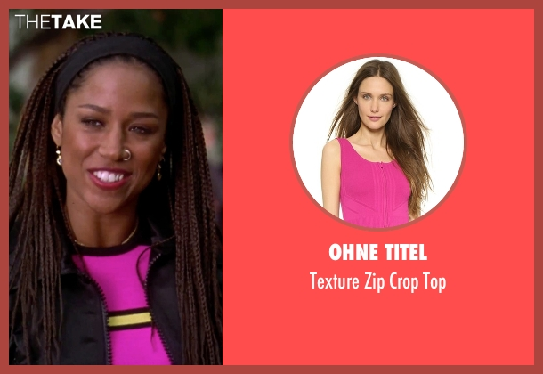Ohne Titel pink top from Clueless seen with Stacey Dash (Dionne)