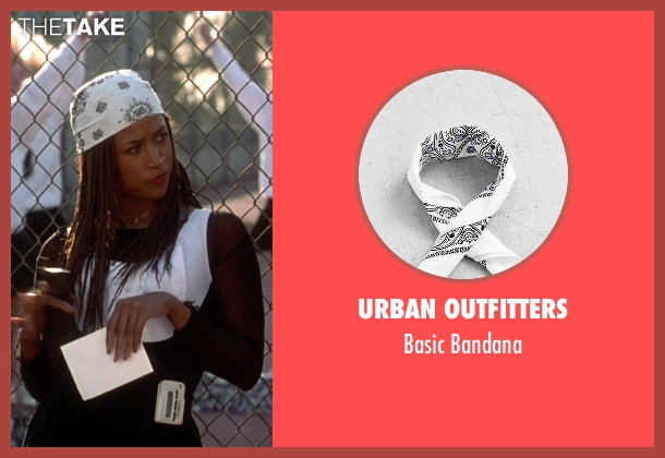 Urban Outfitters white bandana from Clueless seen with Stacey Dash (Dionne)