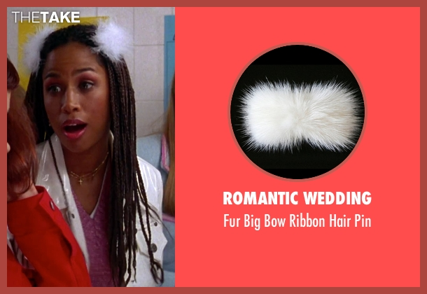 Romantic Wedding white pin from Clueless seen with Stacey Dash (Dionne)