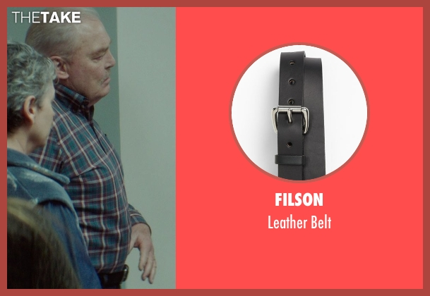 Filson black belt from If I Stay seen with Stacy Keach (Gramps)