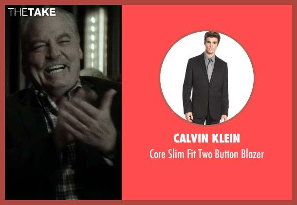 Calvin Klein black blazer from If I Stay seen with Stacy Keach (Gramps)