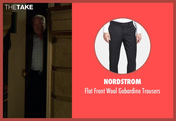 Nordstrom black trousers from If I Stay seen with Stacy Keach (Gramps)