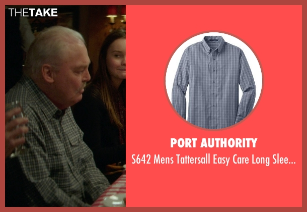 Port Authority gray shirt from If I Stay seen with Stacy Keach (Grandpa)