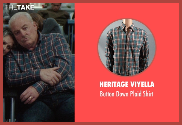 Heritage Viyella green shirt from If I Stay seen with Unknown Actor (Unknown Character)