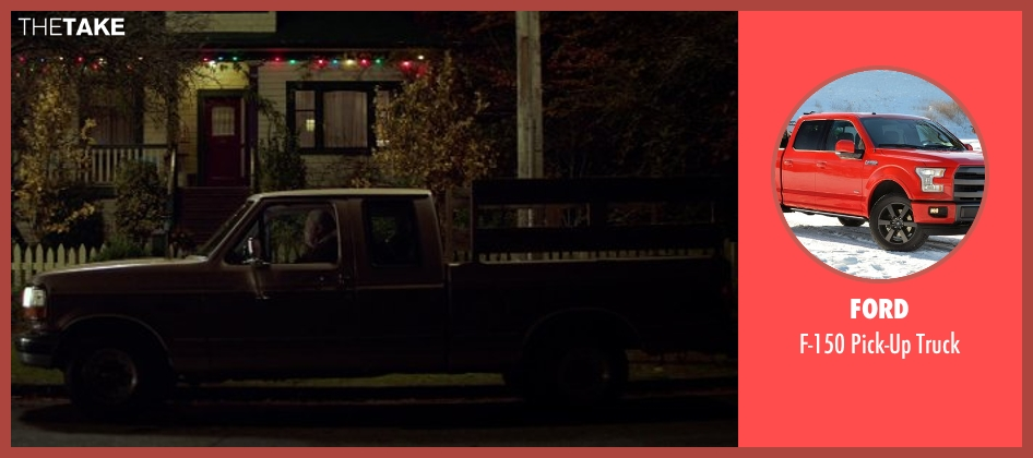Ford truck from If I Stay seen with Stacy Keach (Gramps)