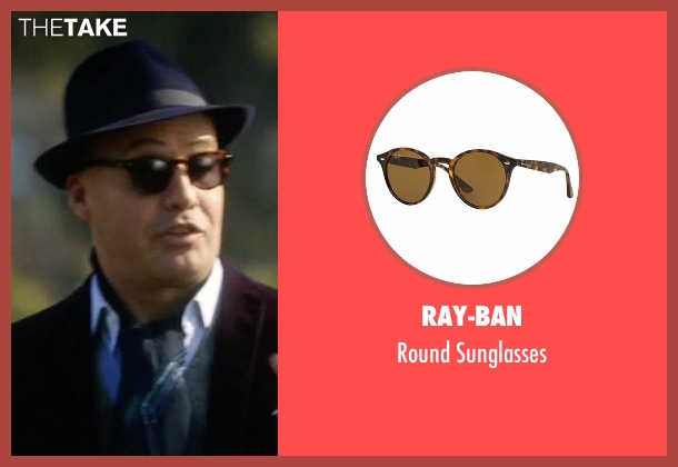 Ray-Ban brown sunglasses from Guilt seen with Stan Gutterie (Billy Zane)