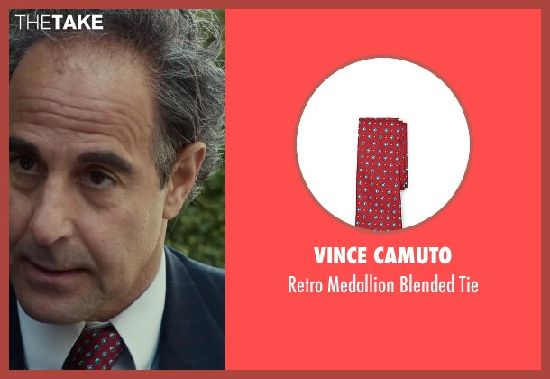 Vince Camuto red tie from Spotlight seen with Stanley Tucci (Mitchell Garabedian)